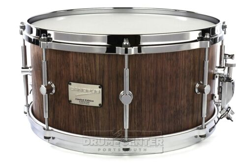 DCP 10th Anniversary Edition Canopus Stave Walnut Snare Drum 14x7