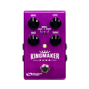 Source-Audio-SA245-Kingmaker-Fuzz-One-Series-True-Bypass-Guitar-Effects-Pedal