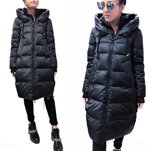 finest selection a7238 2efa9 Details about GUSTO ITALY TOP QUALITY DOWN OVERSIZE LONG PARKA COAT JACKET  Giaccone Piumino