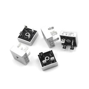 5PCS 35A 1000V Metal Case Single Phases Diode Bridge Rectifier KBPC3510 Cb 665655370863