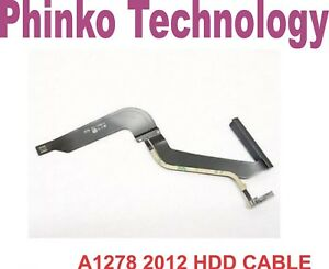"""Apple MacBook Pro 13"""" Unibody A1278 2012 Hard Drive Cable 821-1480-a"""