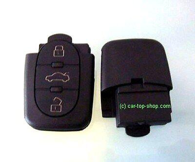Audi Klappschlüssel 3 Tasten 2032 gB A6 A4 A3 A2 TT cle key Gehäuse Schlüssel