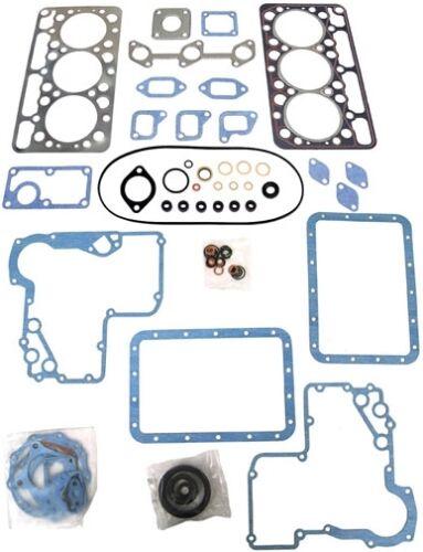 Kubota D750 Motor Upper and Lower Gasket Set