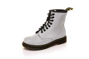 Martens-Airwair-Women-Leather-8-Eye-Smooth-Ankle-Boots-WS55