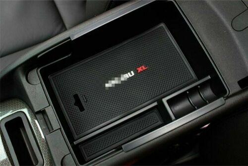 Car Center Console Storage Organizer Box  for Chevrolet Malibu 2016-2019 Black