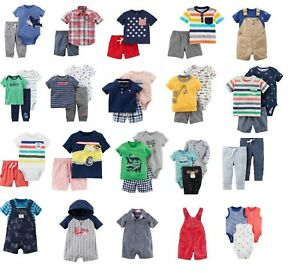 Carters Baby Boys Clothes Cotton Outfit Clothing Set 3 6 9 12 18 24 Month Ebay