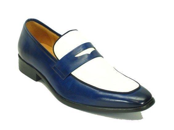 Hecho A Mano De Cuero Para Hombre Dos Tonos Mocasines Hombres Zapatos Cuero Hombres Zapatos Personalizados