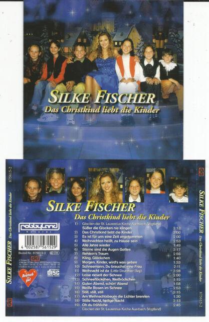 """Silke Fischer """"Das Christkind liebt die Kinder"""" Christmas/Weihnachts CD NEU/NEW"""
