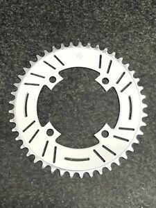 Snap BMX Products S4  104mm 4 bolt Chainring - 45t White