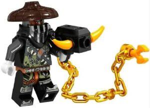 Ninjago-Ninja-Maulkorb-Zane-Cole-Custom-Lego-Mini-Figur-Samurai-Krieger-Spinjitzu
