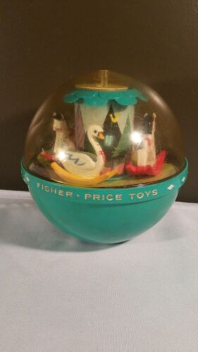 VINTAGE 1972 Fisher Price ROLY POLY CHIME BALL #165 Rare