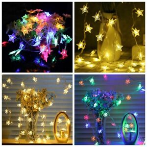 20-LEDs-USB-Battery-Star-Snowflake-Fairy-String-Lights-Xmas-Party-Lamps-Decor-yu