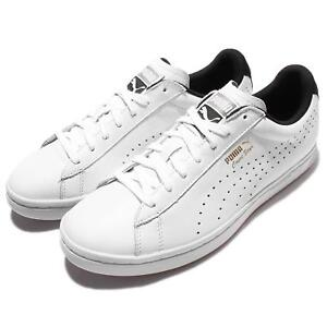 8ab1be356106 Puma Court Star CRFTD Crafted White Black Mens Training Shoes ...
