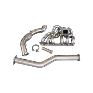 CXRacing Stainless Steel Manifold For 98-05 Toyota Lexus IS300 2JZ-GE NA-T