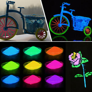 Nice 10ml high quality 12 colors acrylic glow in the dark - Glow in the dark paint colors ...
