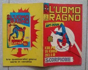 L-UOMO-RAGNO-N-23-CORNO-1971