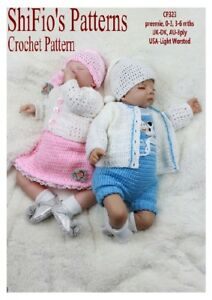 CROCHET-PATTERN-for-BABY-JACKET-ROMPER-DRESS-BOY-GIRL-323-THIS-IS-NOT-CLOTHES