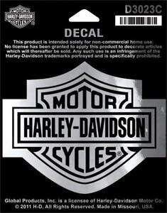 Harley Davidson aufkleberset//sticker modelo bar /& shield Long 10,3 cm x 6,0 cm