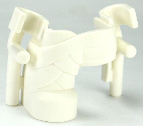 LEGO - Duplo Wear Wear Wear Leg Cast and Crutches - White - RARE b3f180
