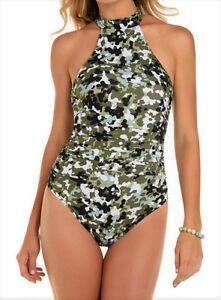 954740e67826c NWT MSRP $178 - MAGICSUIT G.I. Jane Ursula Camo Swimsuit, Multi ...