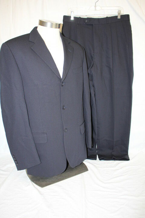 JOSEPH & FEISS Mens Navy bluee 100% Wool