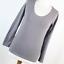 Atmosphere-Womens-Size-12-Grey-Plain-Cotton-Blend-Basic-Tee thumbnail 1