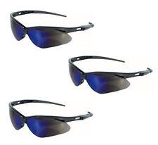 9580e2f3ec5 Jackson Safety V30 Nemesis Glasses Polycarbonate Mirror Lenses Blue Frame  BLK