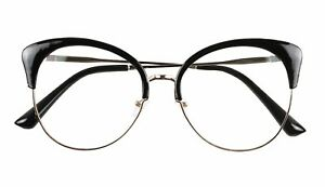 a61bc81743 Details about ShadyVEU- Extra Large Cat Eye Big Fashion Clear Lens Oversize  Frames Sun Glasses