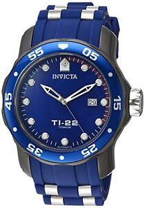INVICTA-HOMME-039-ti-55-9cm-automatique-titane-et-silicone-decontracte-Montre-23558