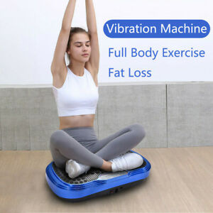waver vibration plate exercise machine full body fat