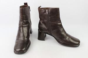 Stivali Vintage Ottime Marrone Condizioni T Marina San Pelle 37 Rwdqwf1