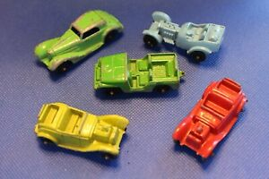 Lot of 5 Vintage Tootsietoy Die Cast Metal Vehicles Made in USA
