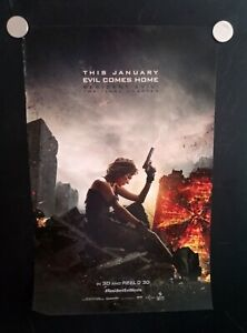 Resident Evil The Final Chapter Milla Jovovich Alice 11x17 Movie