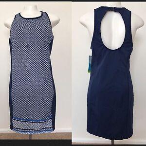 8fe363bd2 NWT Women s Size 16 Tropical Escape Open Back Swim Dress Cover Up ...