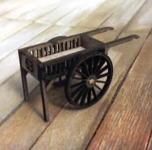 Dollhouse Miniature Garden Vending Cart Kit - 1:48 - 1/4 - Quarter - O Scale