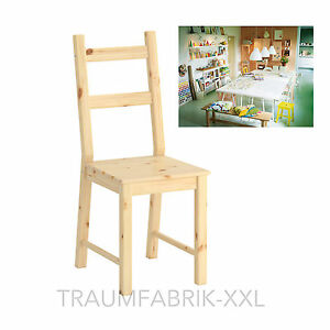 Details about IKEA Kitchen Chair IVAR Chair Chairs Wood Chair solid pine untreated NEW & OVP show original title