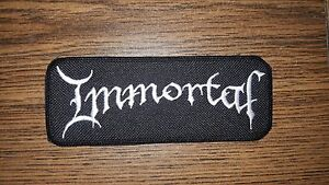 IMMORTAL-SEW-ON-WHITE-EMBROIDERED-PATCH