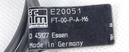 IFM E20051 FT-00-P-A-M6  FT00PAM6