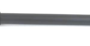 """New 8FT 1/"""" Black Smooth Iron Pole for Drapery Curtain Rod"""