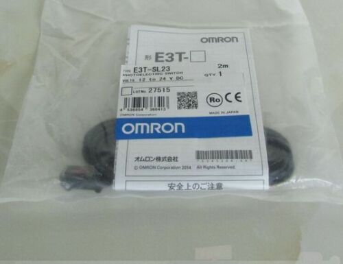 Fst  E3T-SL23  E3TSL23 12-24VDC 1PCS New Omron Photoelectric Switch free ship