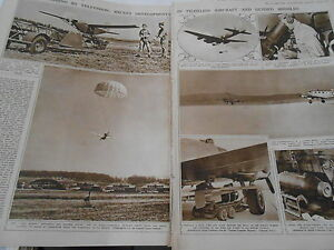 Bombing-by-television-Pilotless-aircraft-Missiles-1946-Print-Article