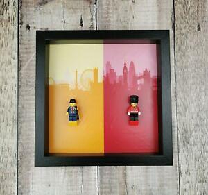 Minifigure-Display-Frame-for-LEGO-Leicester-Square-Lester-amp-Hamleys-Royal-Guard