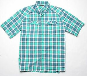 50fb645a Image is loading Under-Armour-Fish-Hunter-SS-Plaid-Shirt-L-