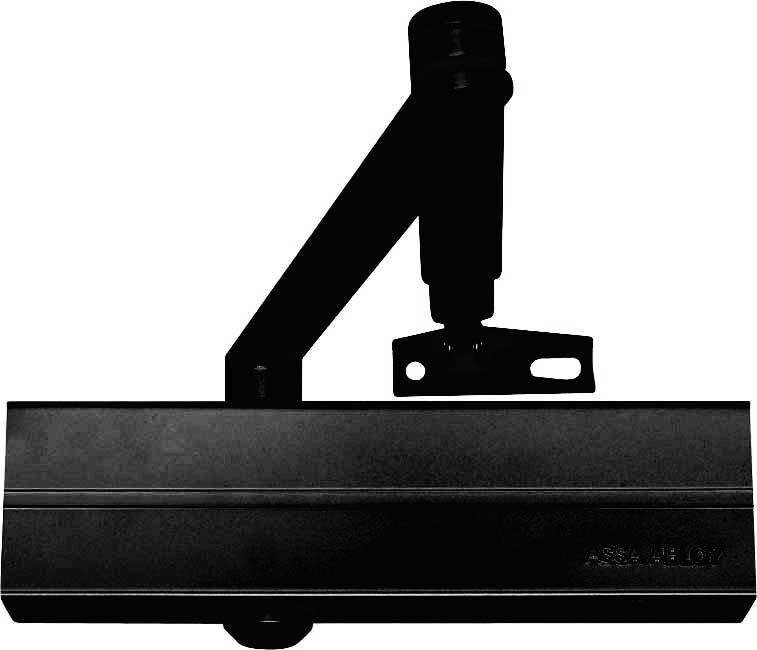Türschließer DC140 mit Gestänge Schwarz Assa Abloy Selbstschließer  | Ausgezeichnetes Preis  | Angenehmes Gefühl  | Starker Wert  | Haltbar
