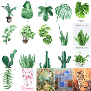 Image Is Loading Green Leaf Plants Scenery 16x20 034 Paint By