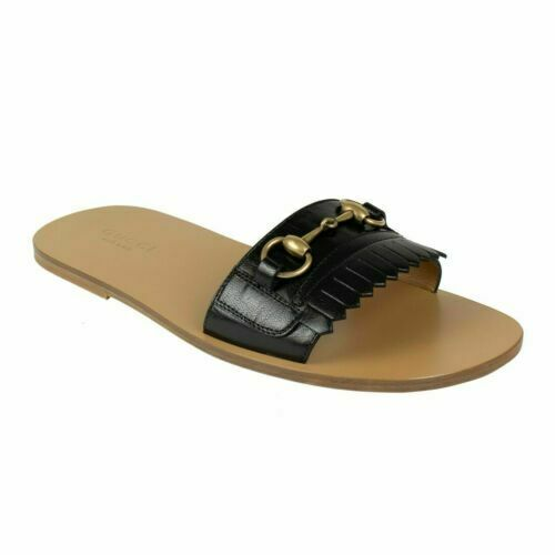 Gucci Black Leather Varadero Horsebit
