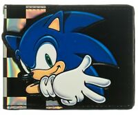Sega Sonic The Hedgehog Boys Wallet Wiiu Wii Ps3 Game Gear Video Game Fans Kids