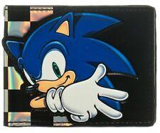 Sega SONIC THE HEDGEHOG BOYS WALLET Wiiu Wii ps3 game gear Video Game Fans Kids