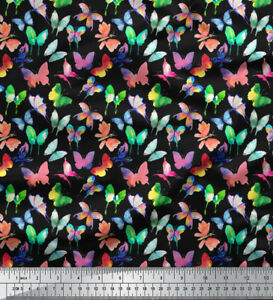 Soimoi-Decorative-Butterfly-58-Inches-Wide-Cotton-Fabric-Craft-Material-1-Mtr