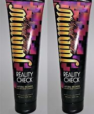 LOT OF 2 JWOWW REALITY CHECK NATURAL BRONZER WITH INK DRINK COMPLEX NEW 2017